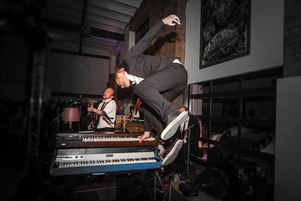 Levitating Joonas